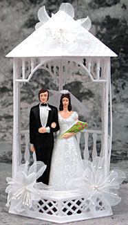 Bride And Groom Gazebo Topper