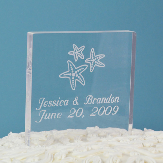 Beach Acrylic Celebration Square