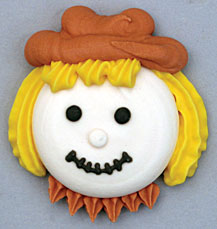 Scarecrow Icing Face