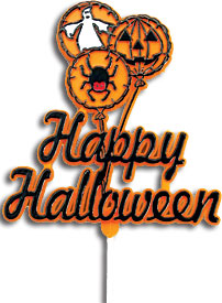 Happy Halloween Plaque