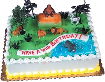 Wild Rainforest Cake Kit