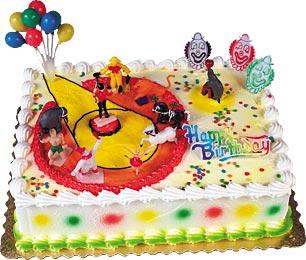Circus Birthday Cake Kit