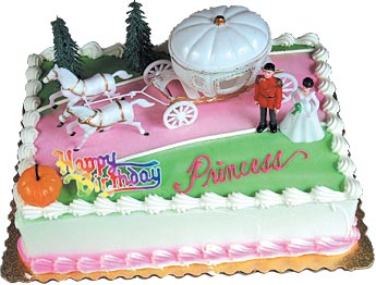 Cinderella's Coach Cake Kit