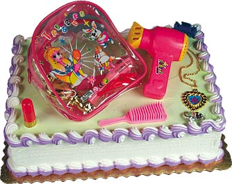 Beauty Backpack Cake Kit