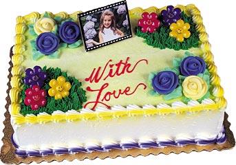 Photo Greetings Cake Kit