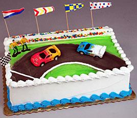 Stock Cars Cake Kit