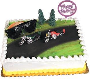 Motorcycles Cake Kit