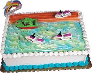 Jet Ski Cake Kit