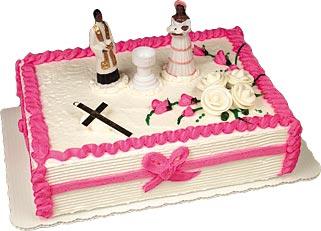 Christening Girl Cake Kit #2