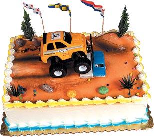 Monster Trucks Cake Kit