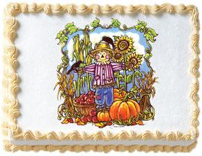 Scarecrow Edible Image