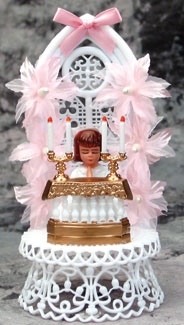 Communion Girl With Background