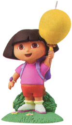 Dora The Explorer Candle
