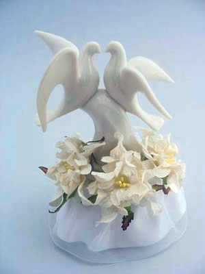 Dove With Gardenias