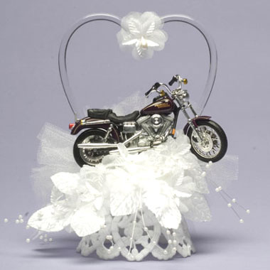 Motorcycle Heart On Base