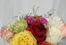 Bouquet Pick Semi Decorated