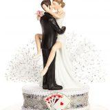 Taking a Gamble Wedding Cake Topper1
