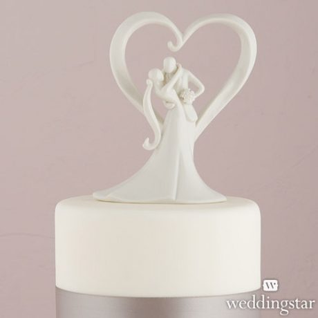 Stylish Embrace Cake Topper