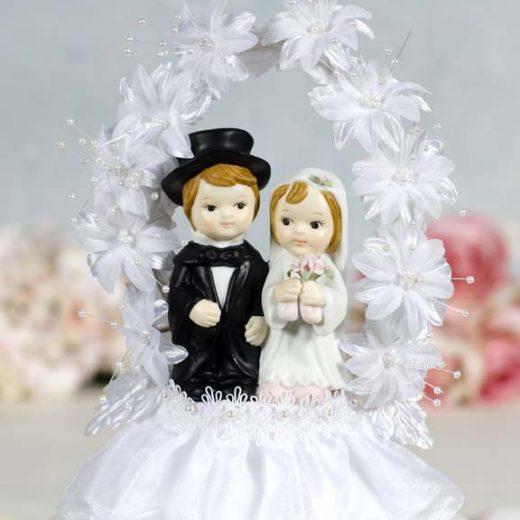Cute Couple Flower Arch