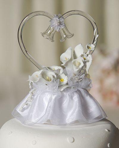 Glass Heart Calla Lilies