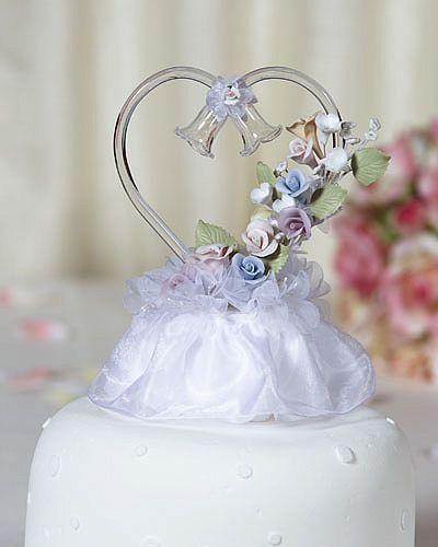 Glass Heart Rainbow Flower