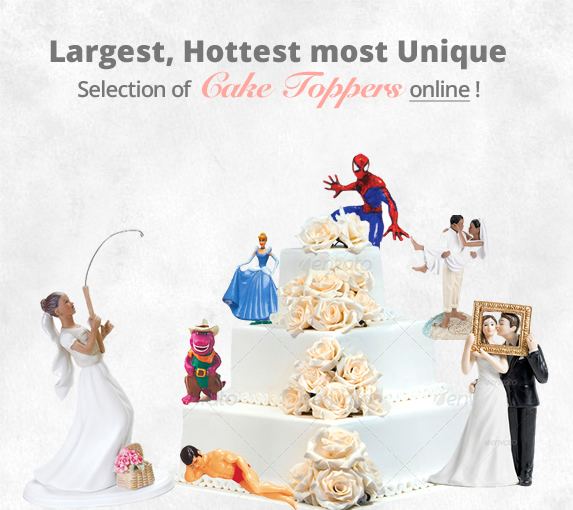 2300 Cake Toppers