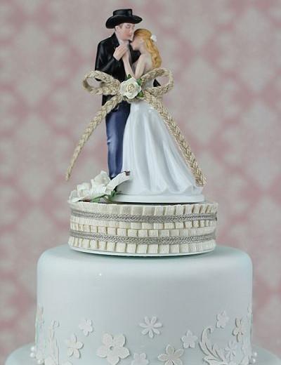 ¨Lasso of Love¨ Western Wedding Cake Topper