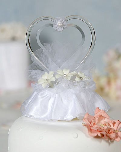 Engravable Stephanotis Cake Topper