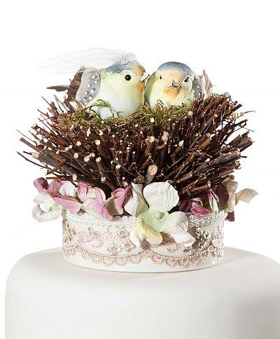 Love Nest Cake Topper