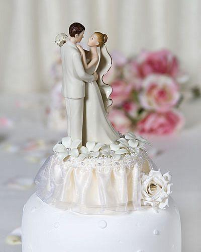 Off White Stephanotis Cake Topper