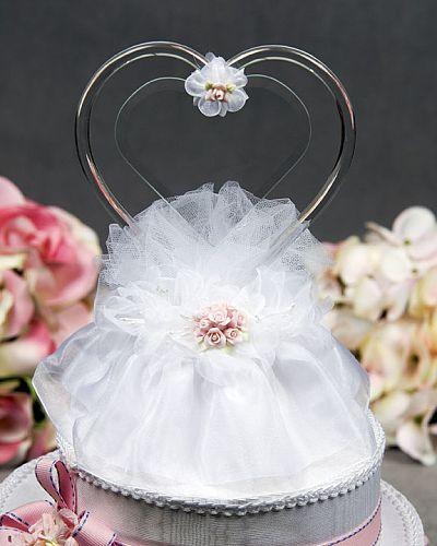 Engravable Rose Bouquet Cake Topper