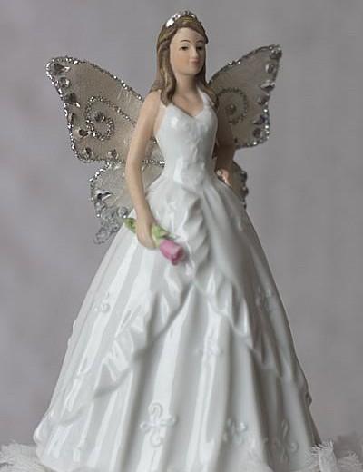 Porcelain Fairy Quinceanera & Sweet Sixteen Figurine