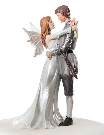 Fantasy Fairy Wedding Cake Topper