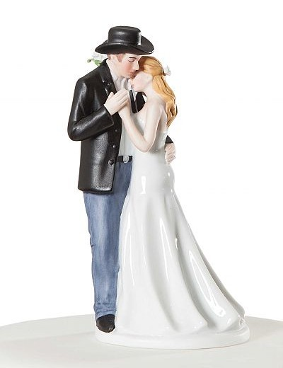 ¨Old Fashion Lovin¨ Western Wedding Cake Topper