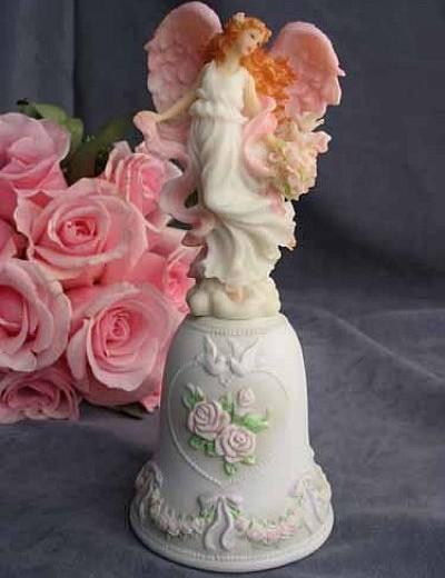 "Seraphim Classics ® ""Harmony"" Love's Guardian Wedding Bell"