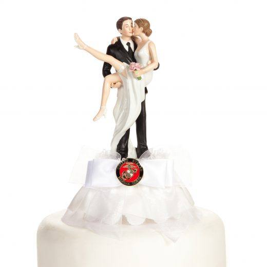 "Military ""Over the Threshold"" Cake Topper"