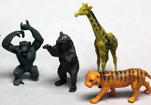 Jungle Animals Cake Toppers