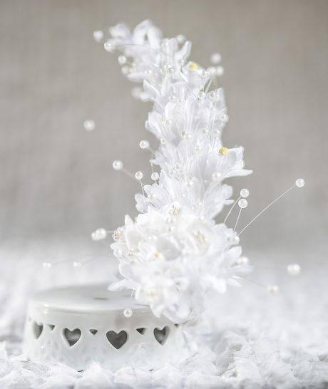 Calla Lily Arch Porcelain Base