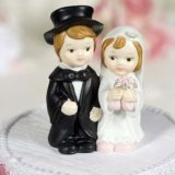 Cute Child Wedding Couple Figurine