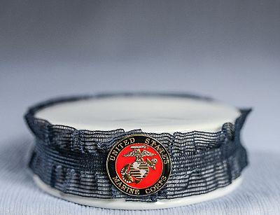 Marine Corps Porcelain Base