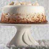 White Swirl Cake Plate
