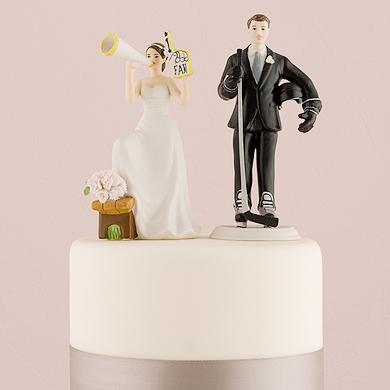#1 Fan Cheering Bride Figurine