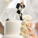 """A Romantic Dip"" Dancing Bride And Groom Couple Figurine5"