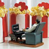 """Couch Potato"" Groom Figurine5"