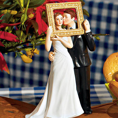 """Picture Perfect"" Couple Figurine - Light Skin Tone"