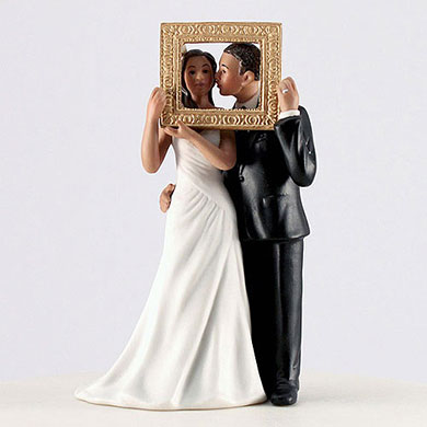 """Picture Perfect"" Couple Figurine - Medium Skin Tone"
