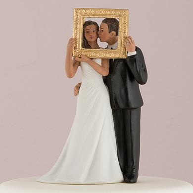 """Picture Perfect"" Couple Figurine  Medium Skin Tone6"