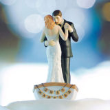 """Row Away"" Wedding Couple In Rowboat Figurine5"