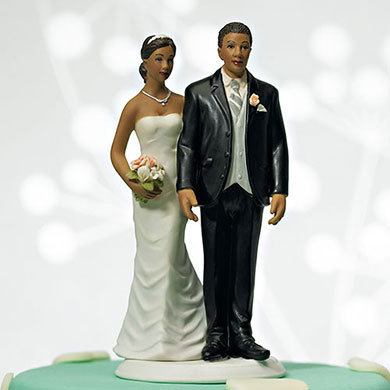 """The Love Pinch"" Bridal Couple Figurine – Ethnic Couple6"