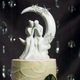 """Written In The Stars"" Bride And Groom Couple Figurine5"